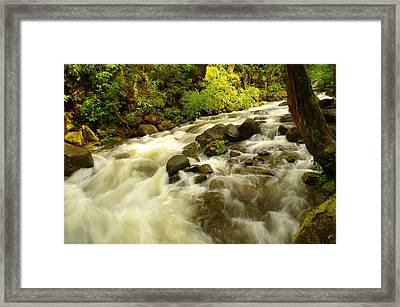 When The Dream Turns The Corner Framed Print by Jeff Swan