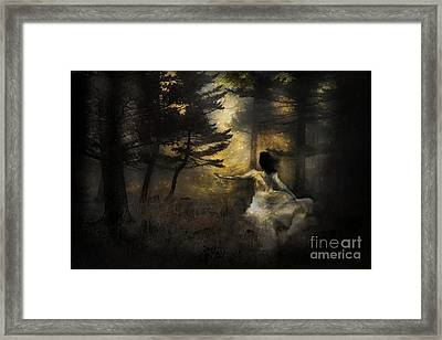 When The Forest Calls Framed Print by Theresa Tahara