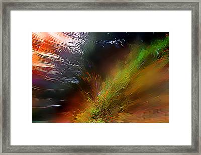 When The Light Burned Framed Print by Wernher Krutein