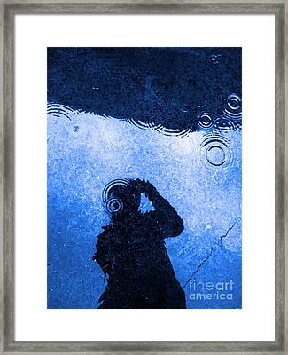 When The Rain Comes Framed Print by Robyn King