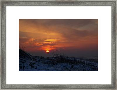 When The Sun Goes Down  Framed Print