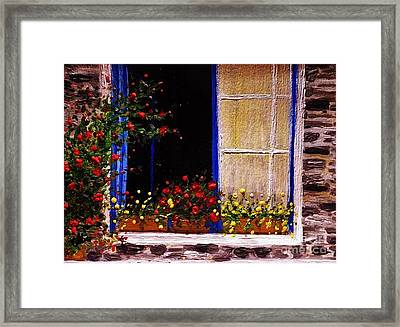 When The Sun Goes To Sleep.. Framed Print