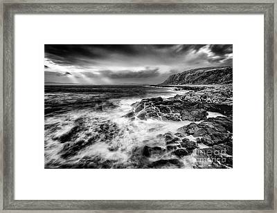 When The West Wind Blows Framed Print by John Farnan