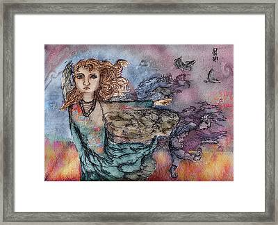 When They Flew Framed Print