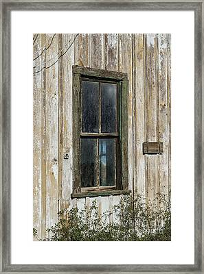 When Times Were Better Framed Print by Sandra Bronstein