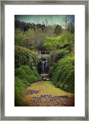When Too Many Tears Have Fallen Framed Print by Laurie Search