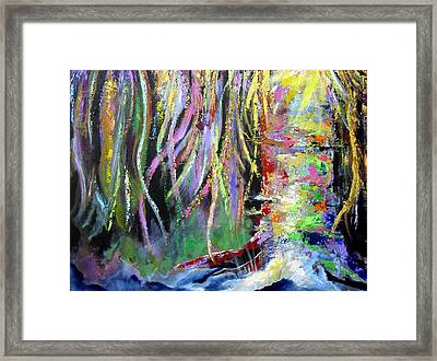 When Trees Dream Framed Print