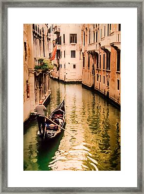 When Two Become One Framed Print by Karen Wiles