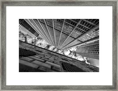 When Up Is Down And Down Is Up Framed Print