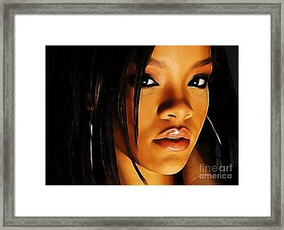 When Words Fail... Framed Print by The DigArtisT