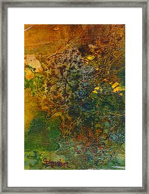 When You Least Expect It Framed Print by Cindy Johnston