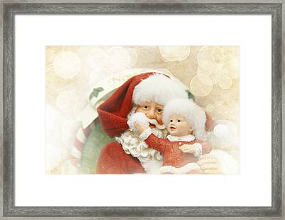 Merry Christmas Framed Print by Sharon Mau