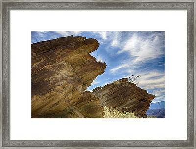 Where Andreas And Murray Meet 3 Framed Print by Scott Campbell