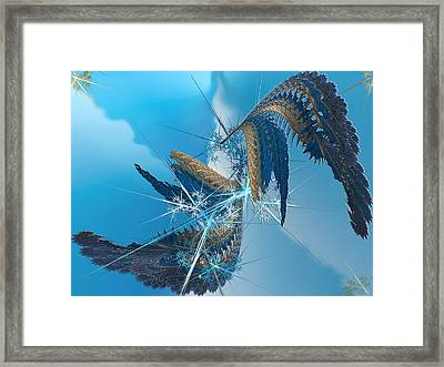 Where Angels Fell Framed Print by Camille Lopez