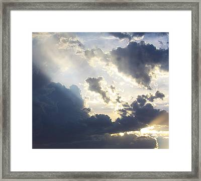 Where Angels Live Framed Print