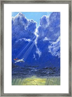 Framed Print featuring the painting Where Angels Sing by Karen Wilson
