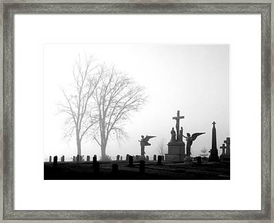 Where Angels Watch Framed Print