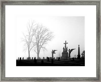 Where Angels Watch Framed Print