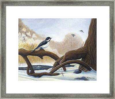 Where Are You Going Framed Print by Rick Huotari