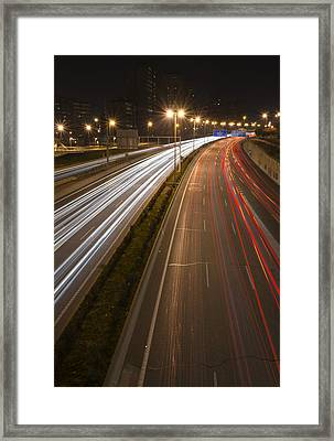 Where Are You Going Tonight Framed Print
