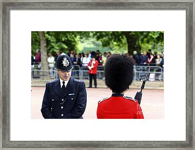 Where Can I Get A Uniform Like That Framed Print by James Brunker