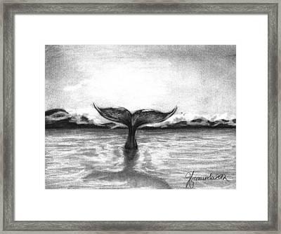 Where Can I Go Framed Print by J Ferwerda