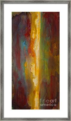 Where Colors Collide Framed Print by Todd Karleskein