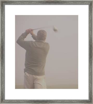 Where Did My Golf Ball Go Framed Print