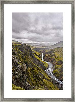 Where Do I Look Framed Print by Jon Glaser