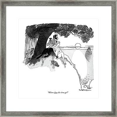 Where Does The Time Go? Framed Print