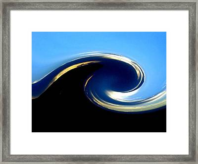 Where Earth Meets Sky Framed Print