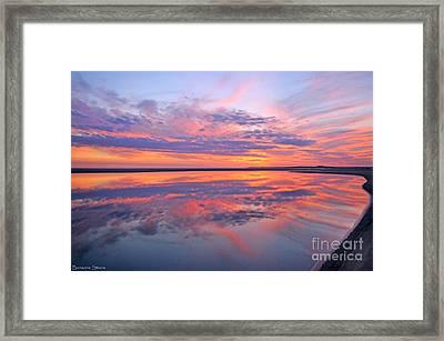 Where Heaven And Earth Meet Framed Print