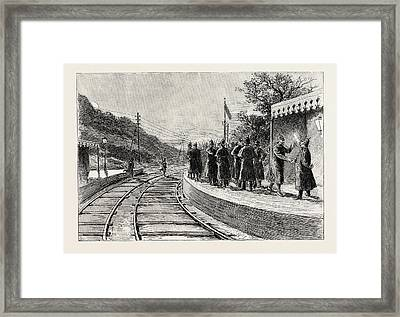 Where I Find My Detachment Already Mustering Framed Print by English School