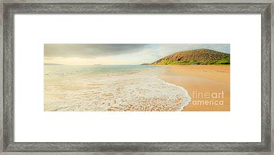 Where I Want To Be Framed Print by Edward Fielding