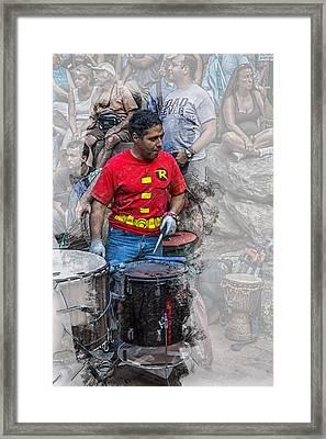 Where Is Batman Framed Print by John Haldane