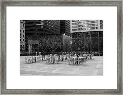 Where Is Everybody? Framed Print