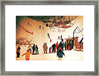 Where Is The Cow Framed Print by Marwan George Khoury
