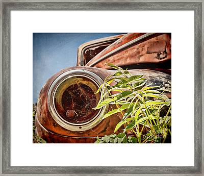 Where Is The Headlight Framed Print