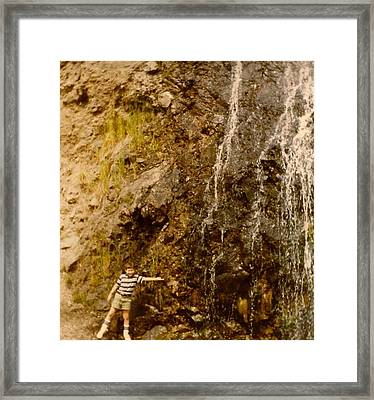 Where Is The Soap Framed Print by Amazing Photographs AKA Christian Wilson