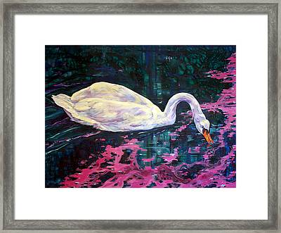 Where Lilac Fall Framed Print