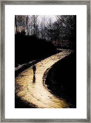 Where Framed Print by Mehmet Dag