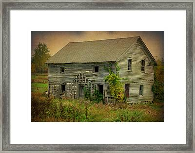 Where Memories Dwell Framed Print by Terry Eve Tanner