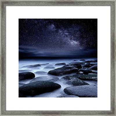 Where No One Has Gone Before Framed Print
