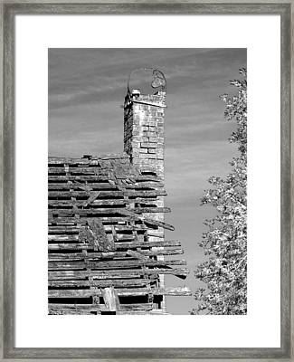 Where Once There Was Warmth Framed Print