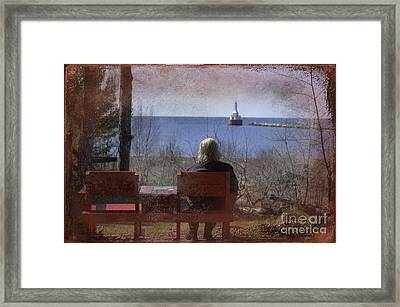 Where Once Were Two Framed Print by The Stone Age