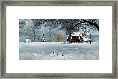 Where Romance And History Meet Framed Print by John Poon