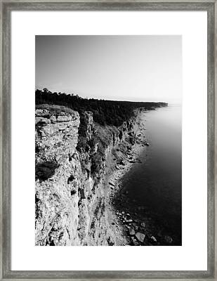 Where Sea Meets Land Framed Print by Nicklas Gustafsson