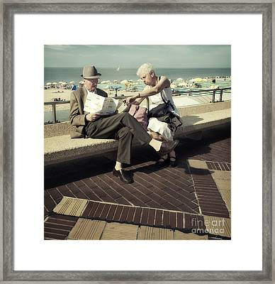 Where Shall We Go My Dear This Year Framed Print by Michel Verhoef