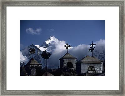 Where Spirits Roam Framed Print by James Brunker