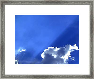Where The Angels Live Framed Print